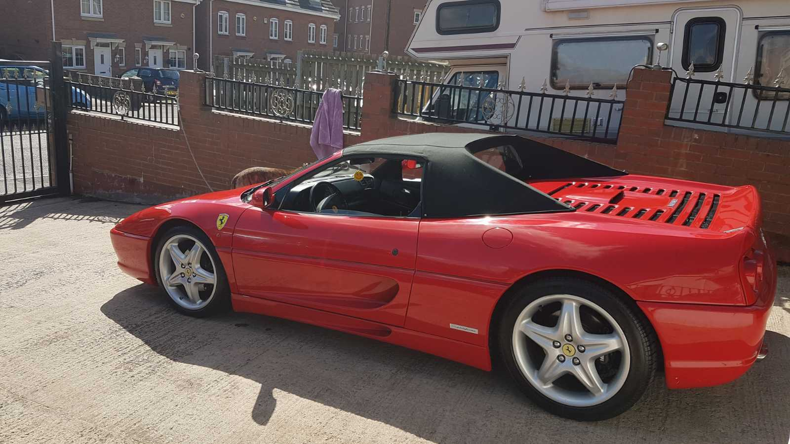 One of the Ferrari's we have on offer